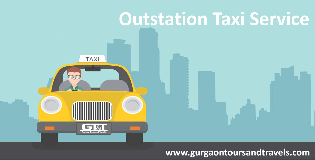 outstation taxi service in gurgaon